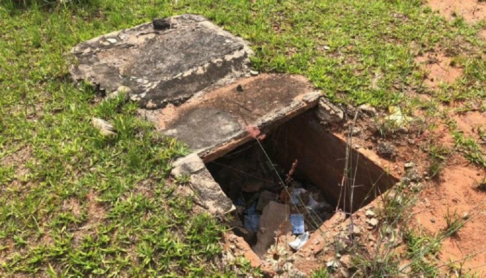 Túmulos violados, caixões abertos e até crânio exposto em cemitérios de MS